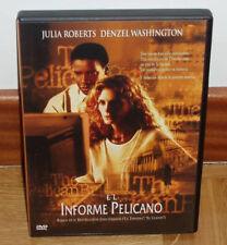 EL INFORME PELICANO DVD NUEVO PRECINTADO THRILLER JULIA ROBERTS (SIN ABRIR) R2