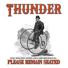 THUNDER PLEASE REMAIN SEATED CD (Released January 18th 2019)