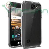 Custodia AIR cover trasparente per LG K3 case TPU flessibile morbida nuova