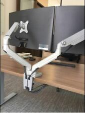 360° rotation Heavy duty VESA Dual Arm 17-32 inch Monitor Holder