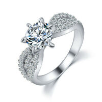 mariée romantique les femmes bijoux en cristal l'or rose) mariage ces anneaux