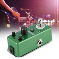Guitar Effect Pedal Looper Loop Recording Tremolo Distortion Single Block Green