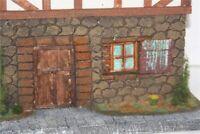 70703 Wohnhaus Erasmus Alber, zu Spur G/LGB, Fertigmodell in Composite Mischbau