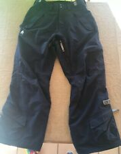 Sessions Ridge Series Medium Worn Once Blue Snowboard Ski Pants Mint