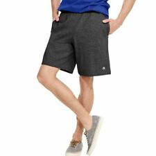 "2 Pk Champion Authentic Cotton Mens Shorts with Pockets -9"" Inseam COLOR CHOICES"