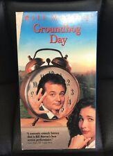 Groundhog Day VHS 1993 Bill Murray Harold Ramis Comedy Romance Fantasy Holiday