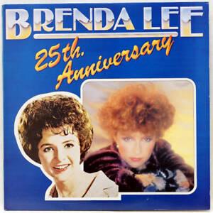 BRENDA LEE 25th Anniversary Double LP MCA MCLD609 UK 1981 Vinyl VG+/EX