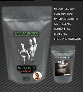 1kg WPC/WPI CARAMEL and White Rage Crazy Preworkout! Manufacturer direct!