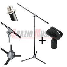 Asta a Giraffa per Microfono Adam Hall Stand S5BE + Clip Microfonica in Regalo