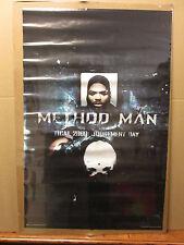 vintage WU-TANG Method Man judgement day  Poster original 1998 5400