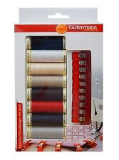(2.49 EUR/Ruolo) Gütermann nähgarn Set con 10 wonderclips GRATIS