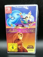 Disney Classic Games Aladdin and the Lion King Nintendo switch videojuego-nuevo