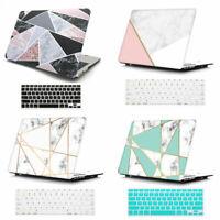 Marble Matt Hard Case Cover + Keyboard Skin For Macbook Air Pro 11 13'' + Retina