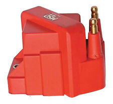 Msd Ignition Coil Dis Performance Replacement E-Core Square Epoxy Red 40000 V Gm