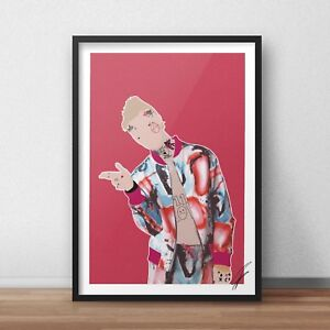 Lil Peep INSPIRED WALL ART Print / Poster A4 A3 HIP HOP rap awful things crybaby