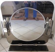 Très Beau Grand Miroir FONTANA ARTE avec appliques  - Mirror with sconces