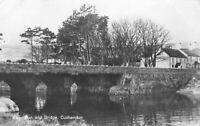 Vintage Real Photo Postcard River Dun & Bridge, Cushendun N.Ireland (July 1973)