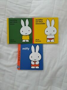 3 X Miffy Books
