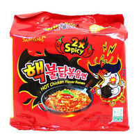Samyang 2x Super Spicy EXTREME NUCLEAR Hot Chicken Ramen Noodles (Pack of 5)