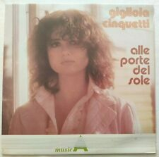 GIGLIOLA CINQUETTI LP ALLE PORTE DEL SOLE 33 GIRI ITALY 1983 CGD LSM 1042 NM/NM