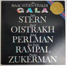 Isaac Stern Vivaldi Gala Oistrakh, Perlman, Rampal & Zuckerman LP CBS M 38982