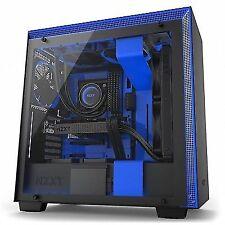 Nzxt H700i mate torre ATX Negra/azul