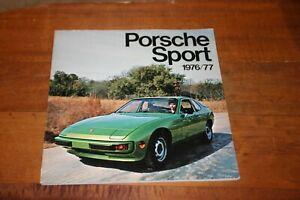 PORSCHE SPORT 1976/77 EDITED BY JOE RUSZ HOLBERT GREGG HAYWOOD CAN AM 911 914
