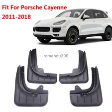 Fit For Porsche Cayenne 2011-2017 Mud Flaps Mudguard Fenders Splash Guards 4pcs