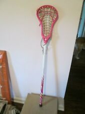 Brine Girls A1 Lacrosse Stick Pink Head Under Armour Pink & White Shaft 42.5""
