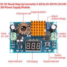 DC-DC Convertidor Boost Step Up 3-35V 5V-45V 9V 12V 24V 36V Módulo de Fuente de alimentación A1