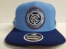 6de27152d58 New York City FC Cap Adidas Snapback Hat Official On Field 2018 Soccer MLS