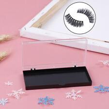 Eyelash Storage box Packing Box Transparent Lid black Tray for Grafted eyelaBDA