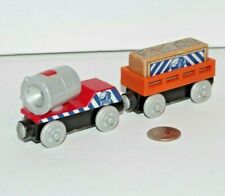 Thomas & Friends Wooden Railway Train Tank BMQ Searchlight Mining Supply Car EUC