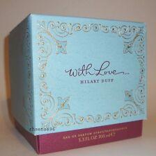 HILARY DUFF WITH LOVE WOMEN PERFUME BIG EDP 3.3 FL OZ SPRAY 100 ML NIB
