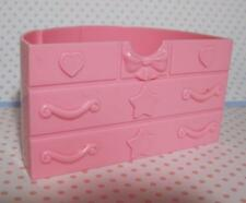 MLP My Little Pony Celebration Castle Replacement pt Piece~PINK Chest of Drawers