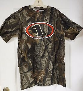 Martin Truex Jr #1 RealTree Camouflage Short-Sleeve T-shirt! 4 Sizes Available