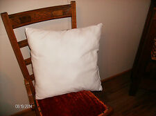 """New 17"""" X 17"""" Pillow insert Bedding Sheets Covers  Made in USA"""