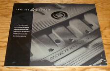 Original 1993 Cadillac Allante Deluxe Sales Brochure 93