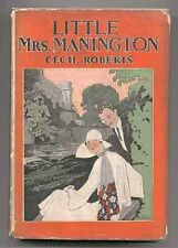 Cecil ROBERTS / Little Mrs Manington Signed 1st Edition 1926