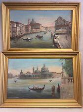 """U.Ravagni  Signed Oil Paintings, Pair Of Italian Paintings 35.5""""x23.5"""""""