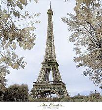 PARIS FRANCE PRINT Tour Eiffel au Printemps by Alan Blaustein 24x26 Tower Poster