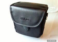 Original Nikon cs-p08 bolsa de piel Funda para Coolpix p500/l120 negro