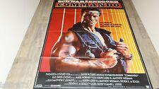schwarzenegger COMMANDO ! affiche cinema