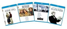 Woody Allen Blu-Ray Bundle, New & Sealed, Sleeper, Manhattan, Annie Hall, Hannah