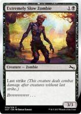 """4x Extremely Slow Zombie (VAR: A - """"Brrrrrrrrrrrr..."""") MTG Unstable NM Magic Reg"""