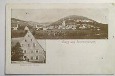 Ansichtskarte Pommelsbrunn Nürnberg Land   Gasthaus Paulus um 1900