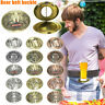 Outdoor Metal Beer Head Belt Funny Bottle Buckle for Camping Picnic Can Holder