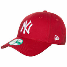 New Era 9FORTY MLB Basic New York Yankees Cap Herren Rot NEU