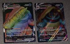 Pokemon Drednaw Vmax Rainbow 75/73 Champion's Path + Drednaw 015/73 PSA 10??