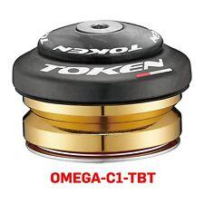 "TOKEN Integrated Headset, Carbon Cover, Ceramic Bearing,Tube 41 mm, Fork 1-1/8"""